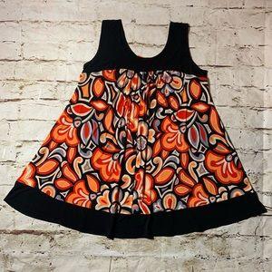 NWT Enfocus Mod Retro Sleeveless Dress- Size 22W